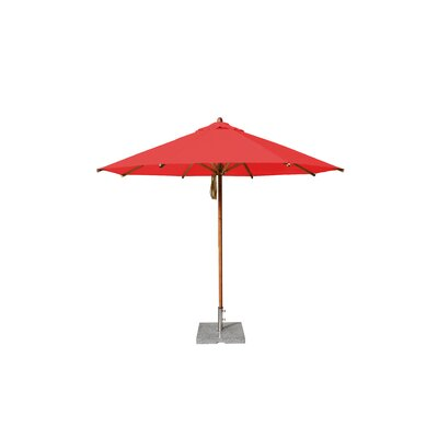 10' Levante Market Umbrella Fabric: Red