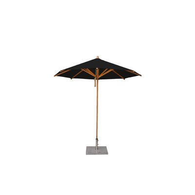 8.5 Levante Market Umbrella Fabric: Black