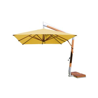 10 Sidewind Square Cantilever Umbrella Fabric: Harvest Wheat