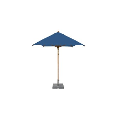 7 x 10 Levante Rectangular Market Umbrella Fabric: Blue
