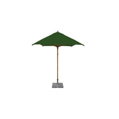 7 x 10 Levante Rectangular Market Umbrella Fabric: Forest Green
