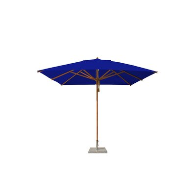 10 Levante Square Market Umbrella Fabric: Blue