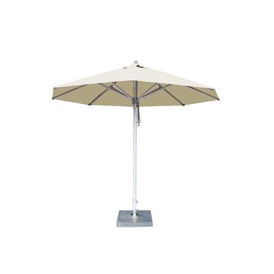 10 Hurricane Market Umbrella Fabric: Ecru