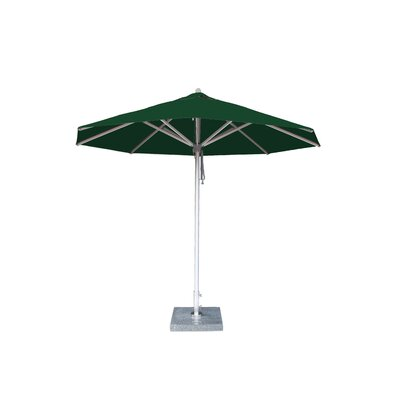10 Hurricane Market Umbrella Fabric: Forest Green