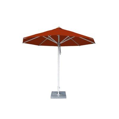 10 Hurricane Market Umbrella Fabric: Terracotta