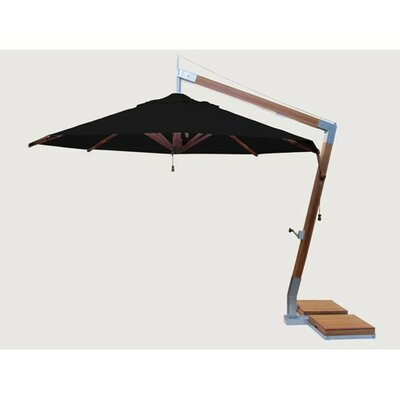 11.5 Sidewind Cantilever Umbrella Fabric: Forest Green