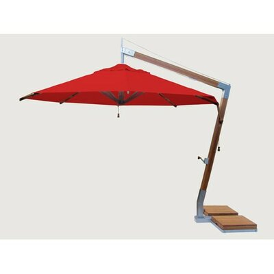 Sidewind 11.5 Cantilever Umbrella Fabric: Red
