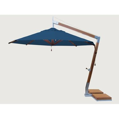 11.5 Sidewind Cantilever Umbrella Fabric: Blue