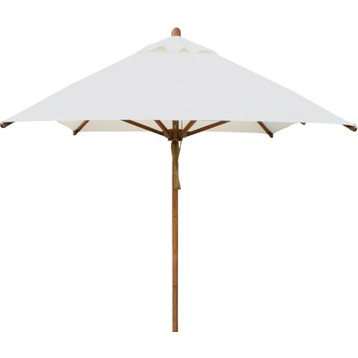 6.5 x 10 Levante Rectangular Market Umbrella Fabric: Ecru