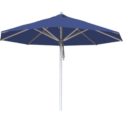 10 Hurricane Market Umbrella Fabric: Blue