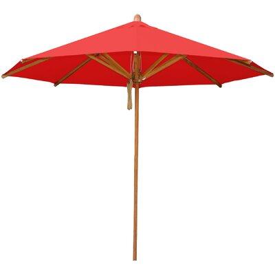 8.5 Levante Market Umbrella Fabric: Red