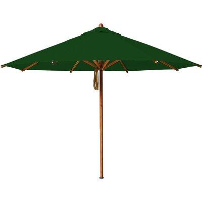 10 Levante Market Umbrella Fabric: Forest Green