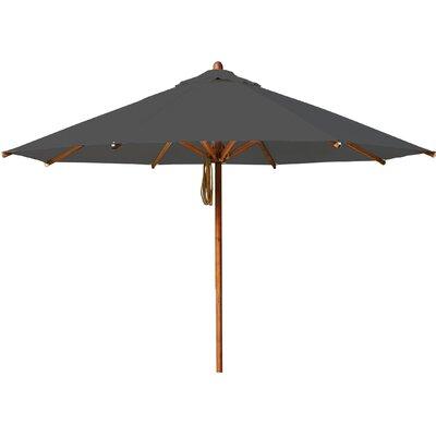 11.5 Levante Market Umbrella Fabric: Taupe