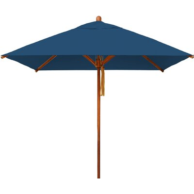 7 Levante Square Market Umbrella Fabric: Blue