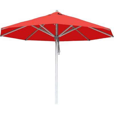 10 Hurricane Market Umbrella Fabric: Red