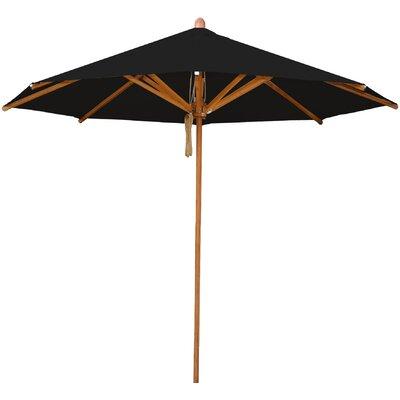 8.5 Levante Market Umbrella Fabric: Black