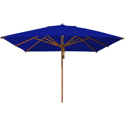 10 Levante Square Market Umbrella Fabric: Blue