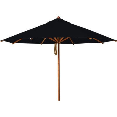 11.5 Levante Market Umbrella Fabric: Black