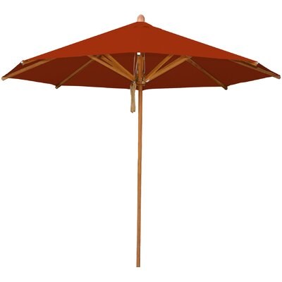 8.5 Levante Market Umbrella Fabric: Terracotta