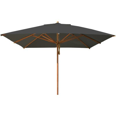 10 Levante Square Market Umbrella Fabric: Taupe