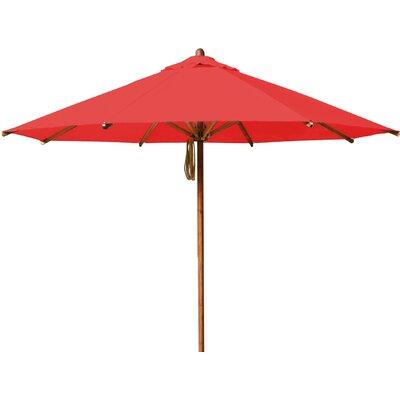 10 Levante Market Umbrella Fabric: Red