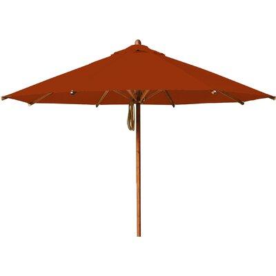 11.5 Levante Market Umbrella Fabric: Terracotta