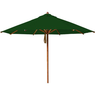 10 Levante Market Umbrella Fabric: Forest Green