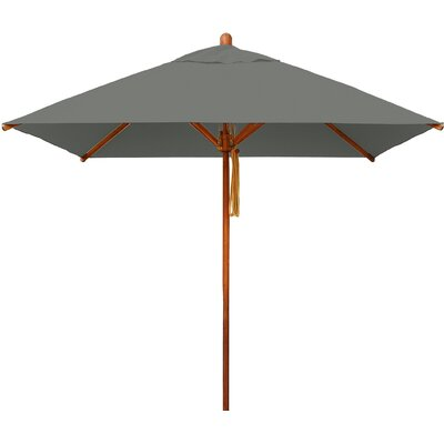 7 Levante Square Market Umbrella Fabric: Taupe