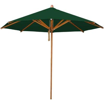 8.5 Levante Market Umbrella Fabric: Forest Green