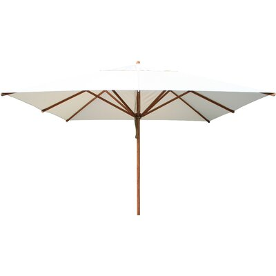 11 Levante Market Umbrella Fabric: Red