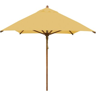 7 x 10 Levante Rectangular Market Umbrella Fabric: Harvest Wheat