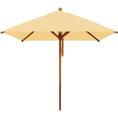 7 Levante Square Market Umbrella Fabric: Harvest Wheat