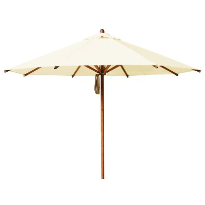 10 Levante Market Umbrella Fabric: Ecru