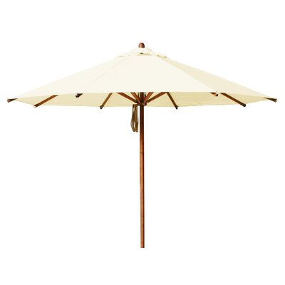 11.5 Levante Market Umbrella Fabric: Ecru