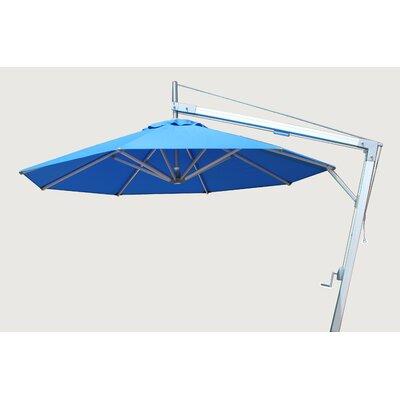 10 Side Wind Santa Ana Cantilever Umbrella Fabric: Blue