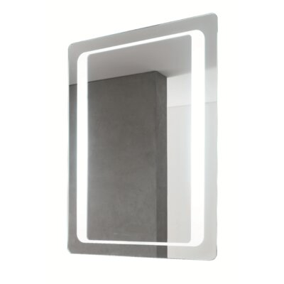"31.5"" H x 23.6"" W Fluorescent Lighted Vanity Mirror"