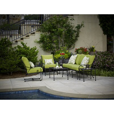 Monticello 5 Piece Deep Seating Group with cushions