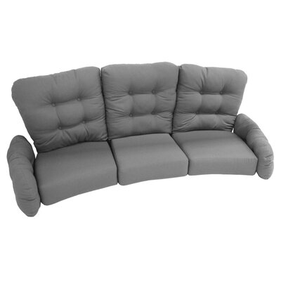 Vinings Deep Seating Sofa with Cushion Fabric: Cabaret Henna