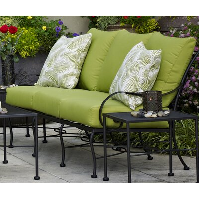 Monticello Deep Seating Sofa Fabric: Spectrum Cilantro