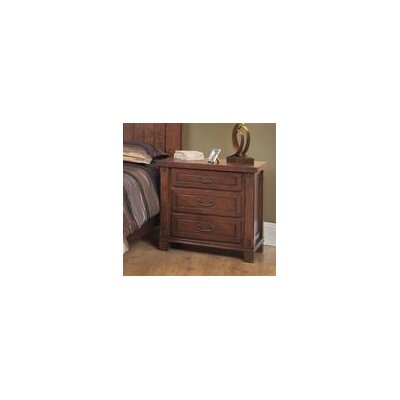 Fergus County 3 Drawer Bachelors Chest
