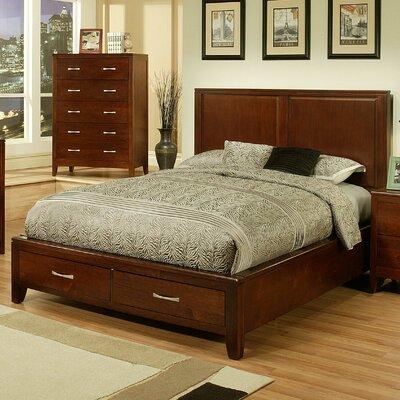 Solitude Storage Platform Bed Size: King
