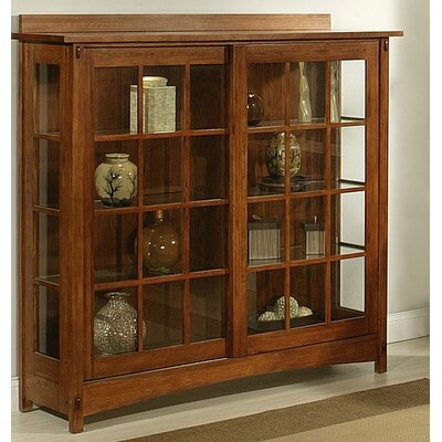 Bungalow Curio Cabinet
