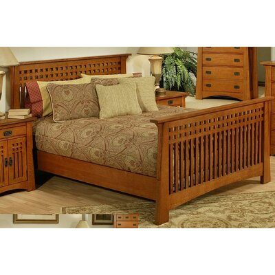 AYCA Furniture Bungalow Slat Bed - Size: Queen at Sears.com