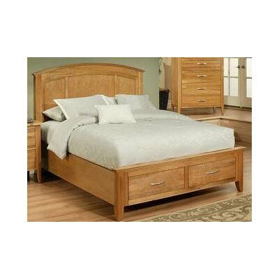 Firefly Platform Bed Size: King, Finish: Wheat