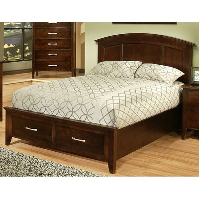 Firefly Platform Bed Size: California King, Finish: Chocolate