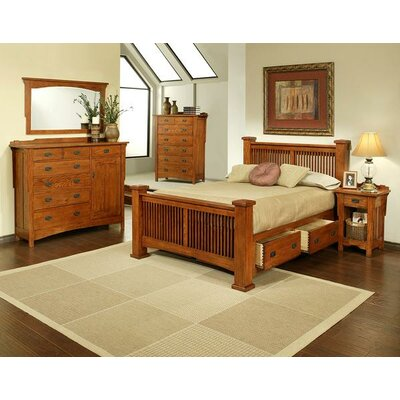 Heartland Manor Panel Customizable Bedroom Set