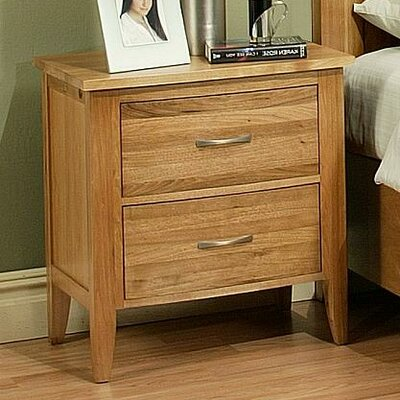 Firefly 2 Drawer Nightstand Color: Cherry