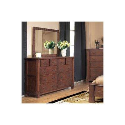 Fergus County 10 Drawer Standard Dresser