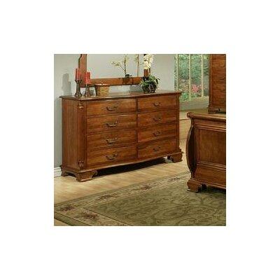 American Heritage 8 Drawer Dresser