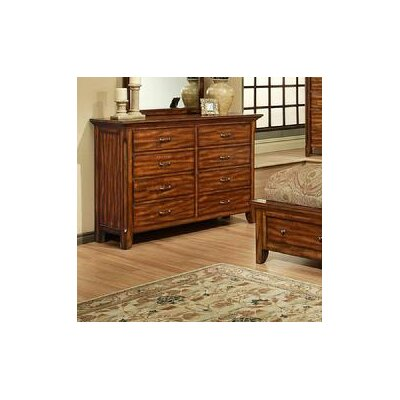 Marissa County 8 Drawer Double Dresser